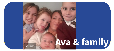Grant a wish for Ava and her siblings