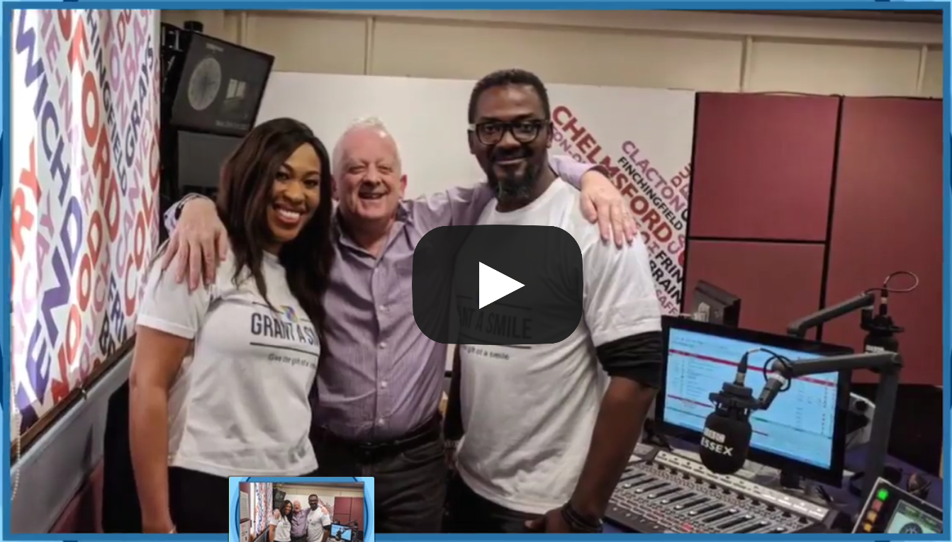 Grant a smile on bbc radio essex