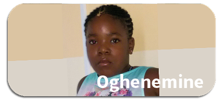 Grant a wish for Oghenemine